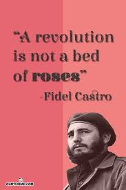 Fidel Castro Quotes 94 Amazing A Revolution Is Not A Bed Fidel Castro Quotes QuotesDad