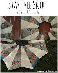 Star Tree Skirt - Jelly Roll Friendly - &  Adamdwight.com
