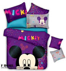 minnie mouse bedding linen cotton comforter sets duvet cover bedskirt and mattress cover minnie and mickey