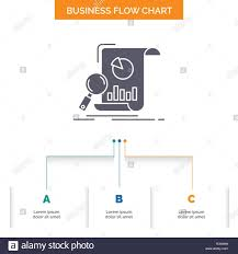Financial Flow Chart Analysis Analytics Business Financial Research Business