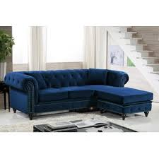 blue velvet sectional. Contemporary Sectional Quickview And Blue Velvet Sectional R