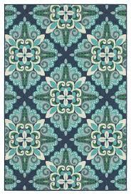 oriental weavers sphinx meridian 2206b blue green area rug contemporary outdoor rugs by veloxmart llc