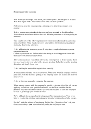 How To Make The Perfect Cover Letter 19 Build Resume Format