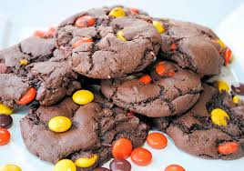 reese s pieces chocolate cookies recipe