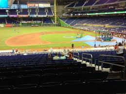 Marlins Park Section 21 Home Of Miami Marlins