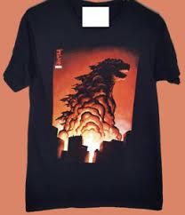 Loot Crate T Shirt Size Chart Details About Vintage Rare Godzilla Bioworld T Shirt Loot Crate Toho Size S 2xl Reprint