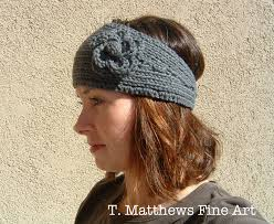 Knit Ear Warmer Pattern Beauteous Knitting Patterns Galore Morning Walk Headband Earwarmer