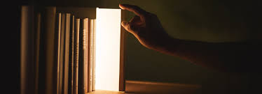 Color Night Lights Chile 2019 Night Book Emits Warm Soft Light When Pulled From Bookcase