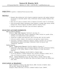 Chronological Resume Example Medical Pharma Sales