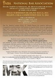 national bar association dr martin luther king jr drum national bar association flyer1