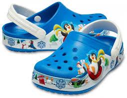 Детские <b>сабо CROCS Kids</b>' Fun Lab Playful Penguin Clog - купить ...