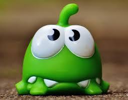 cute food green hibian fig funny cartoon app cut the rope mobile game