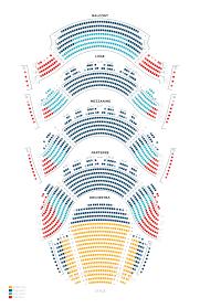 63 Detailed Phantom Of The Opera Seating Chart