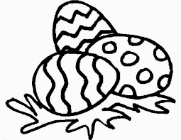 Easter Bunny Coloring Page Easy Chronicles Network