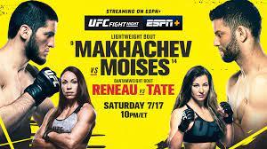 UFC Fight Night: Makhachev vs. Moises ...