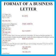 Business Letter Format Spacing | Best Business Template