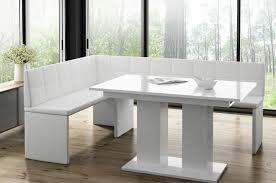 Modern Design Esstisch Lucente Weiß Hochglanz