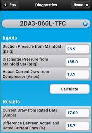 Ac Compressor Amperage Chart Compressor Performance Analysis Hvac School