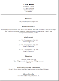 resume3 free downloadable resume formats