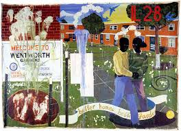 better homes and gardens paint. kerry james marshall, {italic}better homes better gardens{enditalic}, 1994 and gardens paint
