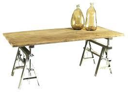 sawhorse diy desk table legs