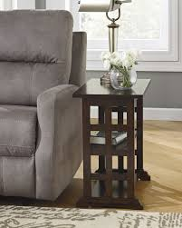 Wooden chair side Elegant Wood Dining Brausen Wooden Chair Side End Table By Ashley Old Cannery Furniture Warehouse Ashley T017 Brausen Wooden Chair Side End Table