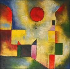 paul klee painting red balloon by paul klee