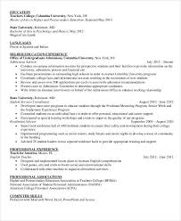 education in resumes 15 professional education resume templates pdf doc free