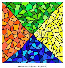stained glass mosiac stained glass mosaic tile vector image stained glass mosaic tile sheets