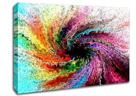 colorful twister contemporary canvas stretched with regard to wall art ideas 6 on colorful wall art canvas with big size abstract living room wall decor colorful art picture with