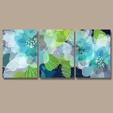 blue and green wall art like this item blue and lime green wall art