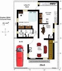 45 x 30 house plans unique house plan 30 x 45 luxury east facing house vastu