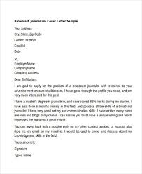 Journalism Cover Letter Opening Lines   Shishita world com Cover Letter Sample For Journalist Cover Letter Sample for Journalism Cover  Letter