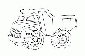 Toy Dump Truck Coloring Page For Kids Transportation Coloring Pages