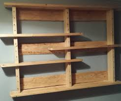 Shelves Made From Pallets Pallet Furniture