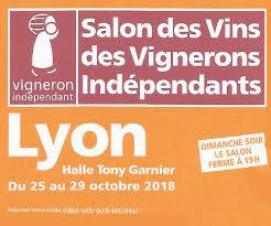 salon des vignerons indépendant lyon du 25 au 29 octobre 2018 villa dondona