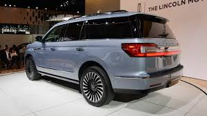 2018 lincoln navigator l. brilliant 2018 2018 lincoln navigator l black label rear for lincoln navigator l