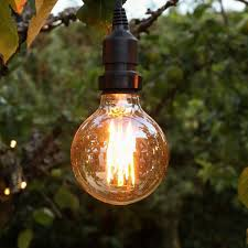 4w E27 Fully Dimmable Vintage Tinted Globe Filament Style Warm White Led Light Bulb