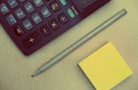 post business office. Desk Writing Pen Office Business Numbers Calculator Finance Accounting Post It Notes Equipment