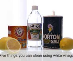 ... Five things you can clean using white vinegar