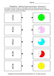 imatching fractions with pictures   matematicas   Pinterest ...