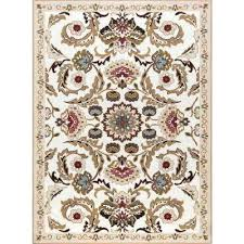 cream rugs area compressed rug 8x10 majesty 8 ft x the home depot safavieh vision furniture