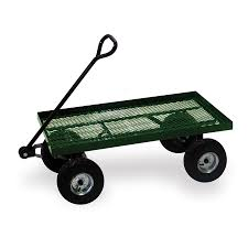 buffalo 550 cu ft steel yard cart