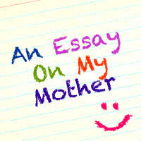 an essay on my mother script the skit guys