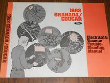 granada wiring diagram 1982 ford granada mercury cougar wiring vacuum diagram shop manual