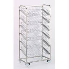 Wire Display Stands Uk Display Racks Tray Size 100x100mm Tray Capacity 100 Basket Type 2