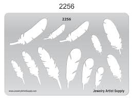 feather template feathers template