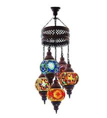previous turkish authentic 5 globe mosaic chandelier mosaic lamp moroccan lantern