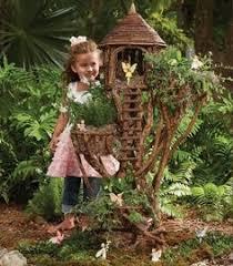 fairy garden ideas fairy house tree branches garden decor mini garden design