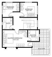 modern floor plans. Modern House Designs Such As Has 4 Bedrooms, 2 Baths And 1 Garage Stall. The Floor Plan Features Of This Design Are, Covered Front Porch, Plans E